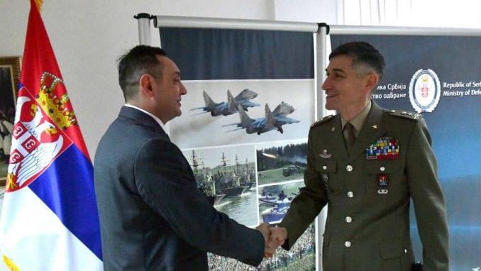 Vulin zatražio od komandanta Kfora da ta misija ostane u punom kapacitetu na Kosovu 1