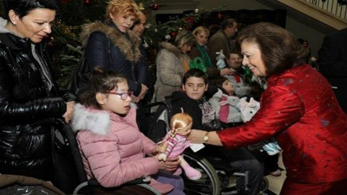 Božićni prijem na Belom dvoru za više od 1.000 mališana 3