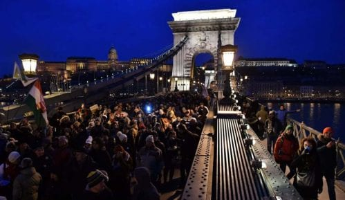 Protesti u Mađarskoj zbog zakona o radu 6