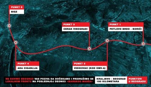 Inicijativa Ne davimo Beograd pozvala Beograđane da dočekaju Lokalni front 4