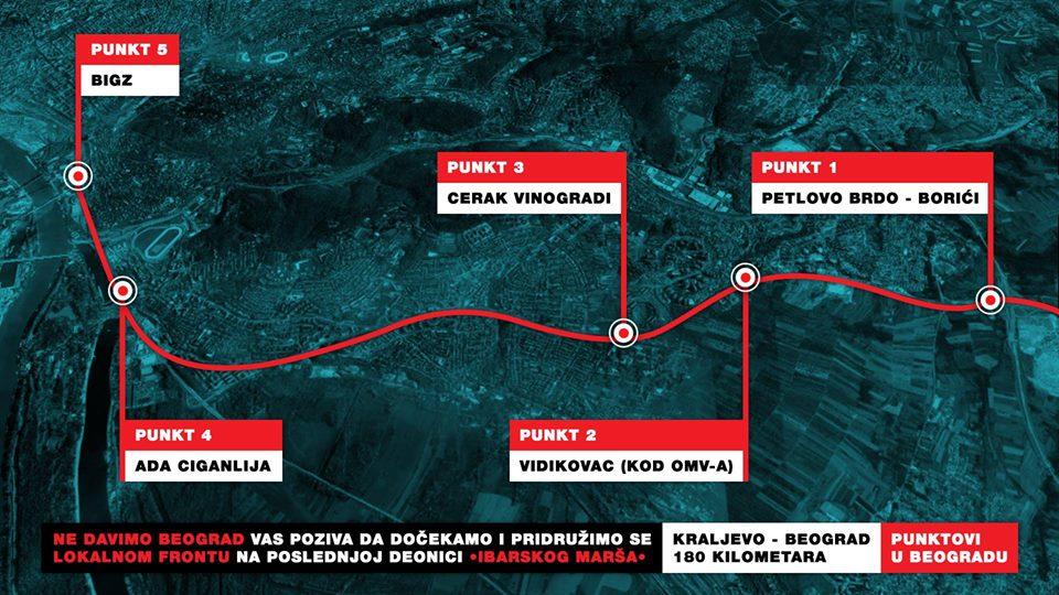 Inicijativa Ne davimo Beograd pozvala Beograđane da dočekaju Lokalni front 1