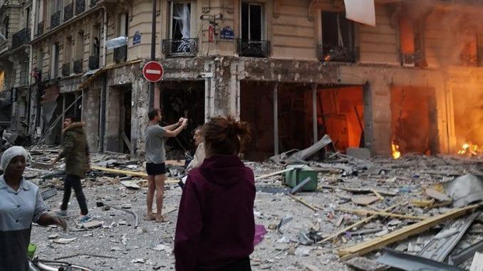 U eksploziji u Parizu povređeno 36 ljudi, od kojih 12 teško 4