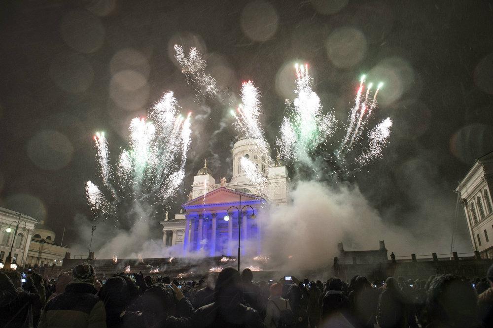 Vatrometi obeležili početak Nove godine u svetu (FOTO) 19