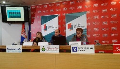 Dupliran broj prekršaja Kodeksa u srpskim medijima 11