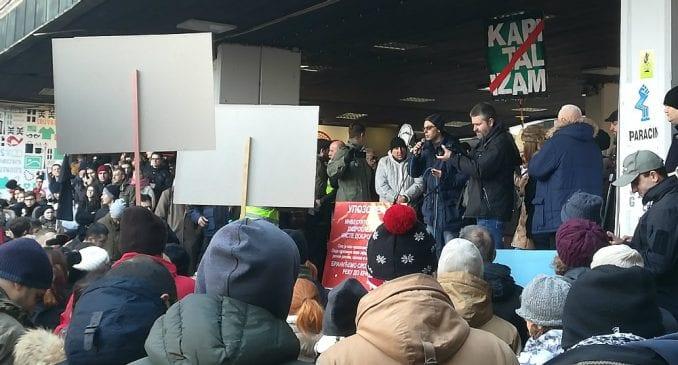 Nekoliko hiljada građana na protestu protiv MHE (VIDEO) 1
