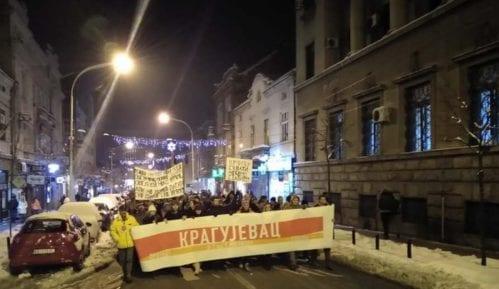 Pretnje sudiji Osnovnog suda u Kragujevcu zbog učešća na protestu 14
