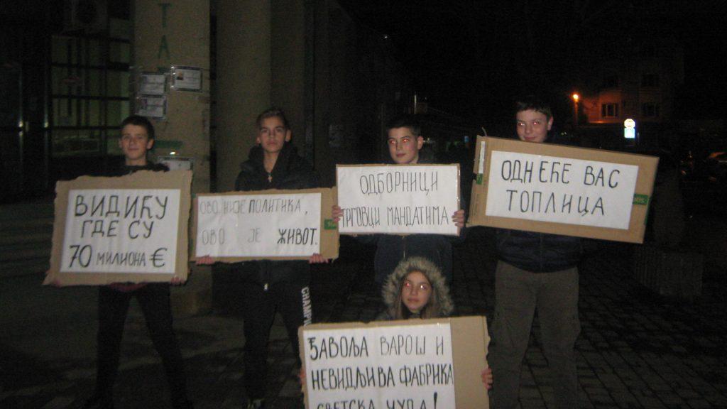 Protesti u Trsteniku i Kuršumliji 2