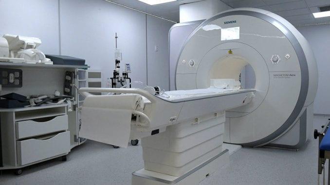 Nova magnetna rezonanca na VMA 1