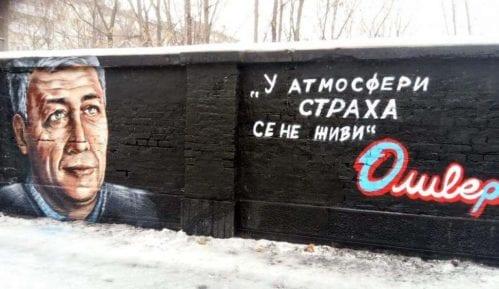 U Beogradu osvanuo mural sa likom Olivera Ivanovića 4