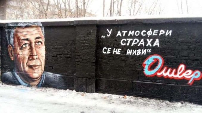 U Beogradu osvanuo mural sa likom Olivera Ivanovića 1