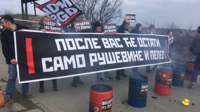 Ne davimo Beograd: Spalionica razuma topi novčanike 1