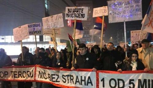 Protesti u više gradova Srbije (VIDEO)(FOTO) 8