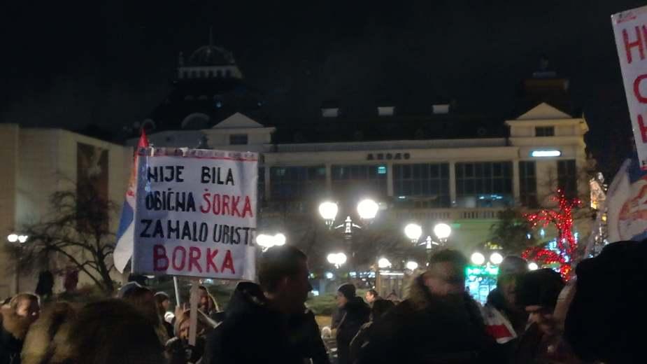 Protesti u više gradova Srbije (VIDEO)(FOTO) 4