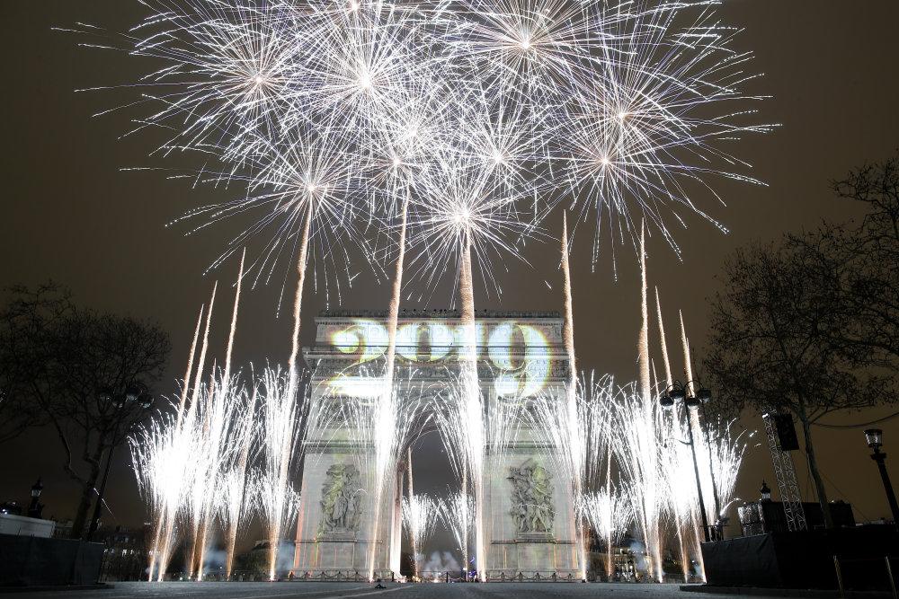 Vatrometi obeležili početak Nove godine u svetu (FOTO) 3