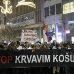 """Protest """"1 od 5 miliona"""": Bujoševiću, nije srpski ćutati (VIDEO) (FOTO) 4"""