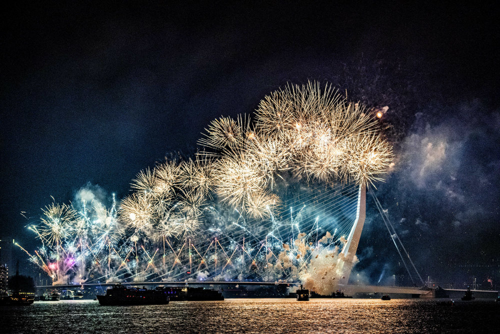 Vatrometi obeležili početak Nove godine u svetu (FOTO) 5