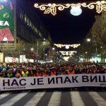 Protest i šetnja za Ivanovića: Sveće na Slaviji i ispred Hrama (VIDEO, FOTO) 2