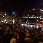 Protest i šetnja za Ivanovića: Sveće na Slaviji i ispred Hrama (VIDEO, FOTO) 4