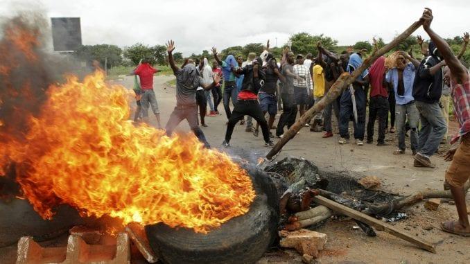 Zimbabve: Predsednik najavio kazne zbog nasilja nad demonstrantima 3