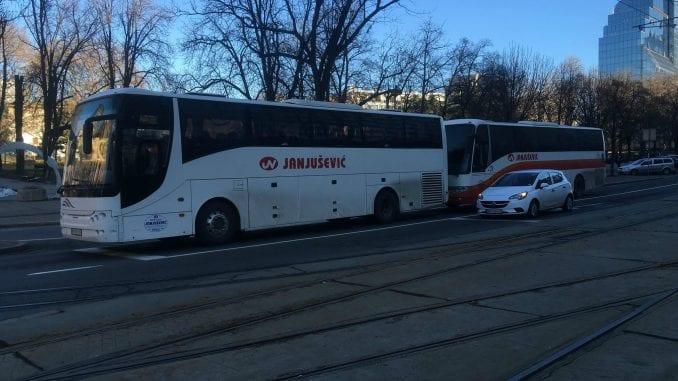 Autobuski prevoznici otkazali prevoz Paraćinaca na protest u Beogradu 1