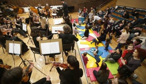 Podela ulaznica za koncerte za bebe u Filharmoniji 4. februara 5