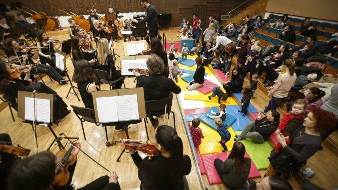 Podela ulaznica za koncerte za bebe u Filharmoniji 4. februara 1