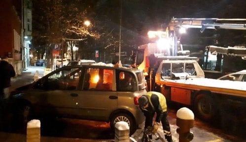 Zaplenjena vozila divljih taksista 3