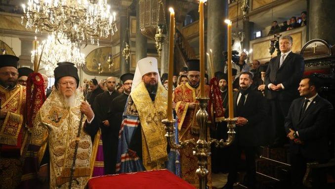 Patrijarh Vartolomej potpisao akt o autokefalnosti Pravoslavne crkve Ukrajine 1