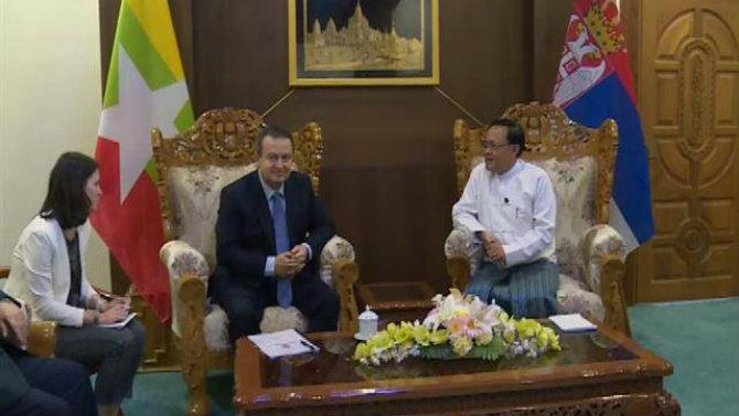 Dačić u Mjanmaru o jačanju političkih odnosa dve države 1