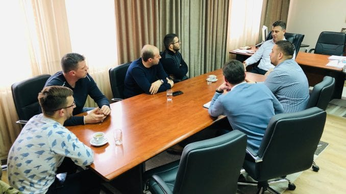 Čelnici Sportskog saveza Srbije posetili Pirot 4