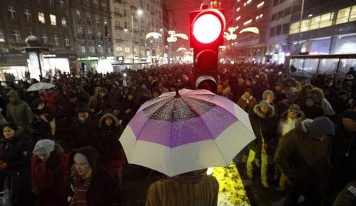 Organizatori protesta: Nismo strani plaćenici 1