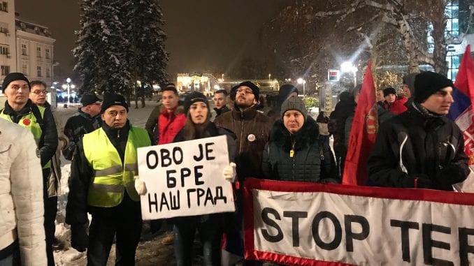 Protest 1 od 5 miliona sutra treći put u Nišu 1