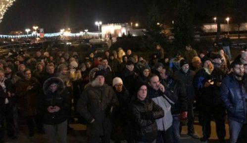 """Večeras prvi niški protest """"1 od 5 miliona"""" 3"""