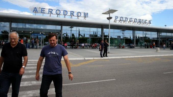 Zatvoren aerodrom u Podgorici zbog snega 1
