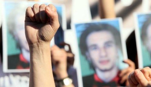 Policija potvrdila da je hapsila tokom protesta Pravda za Davida 4