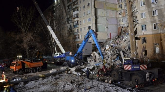 Ruski istražitelji: Nije pronađen eksploziv u ruševini zgrade 1