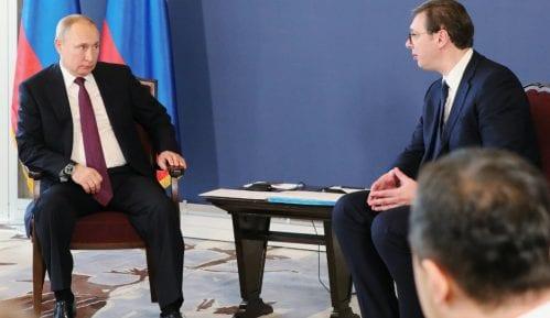 Moskovska štampa detaljno o Putinovoj poseti Beogradu 6