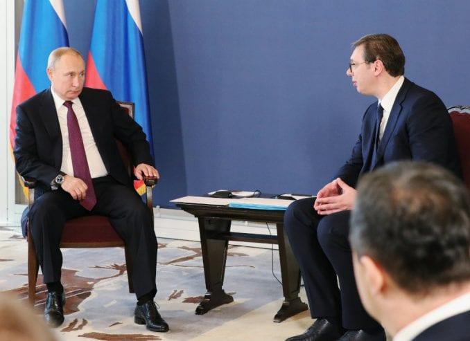 Moskovska štampa detaljno o Putinovoj poseti Beogradu 1