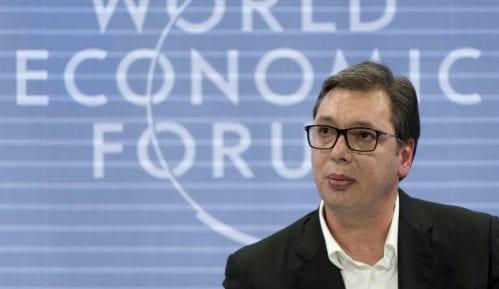 Vučić u Davosu: Biće zanimljiv susret s Tačijem, očekujem civilizovanu raspravu 2