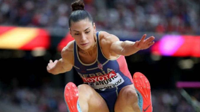 Ivana Španović ponovo trenira 1