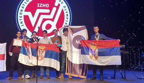 Šest medalja za učenike Matematičke gimnazije 3