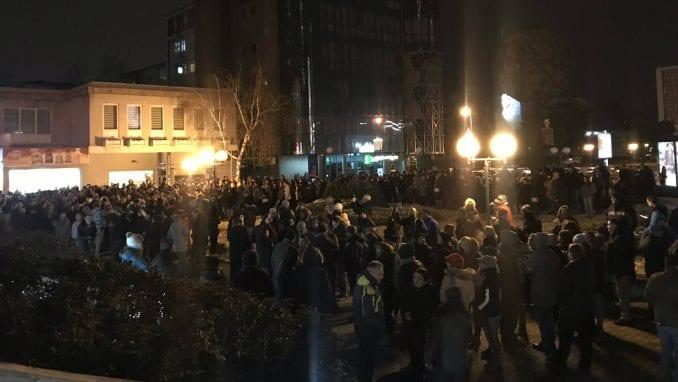 """Sutra u Kragujevcu drugi građanski protest """"Budi jedan od pet miliona"""" 1"""