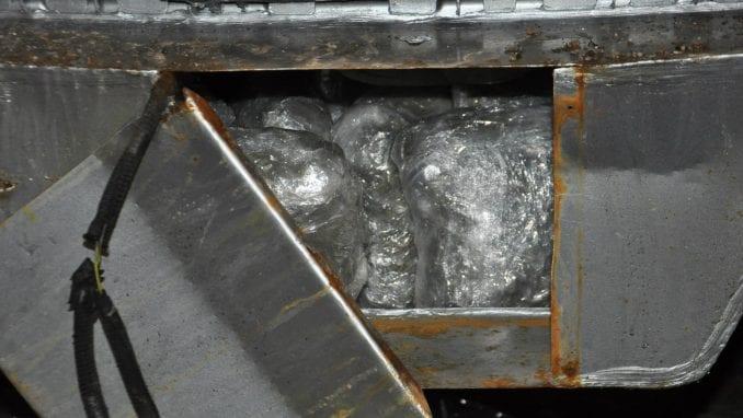 Zaplenjeno više od 24 kilograma marihuane na Batrovcima 1