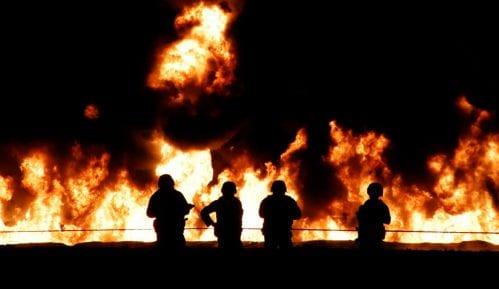 U opštinama Lučani i Ivanjica nekoliko požara, jedna osoba povređena 13
