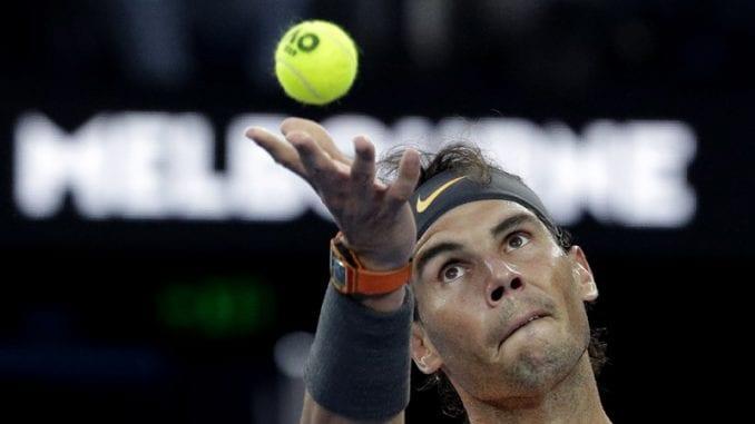 Rafael Nadal prvi finalista AO 1