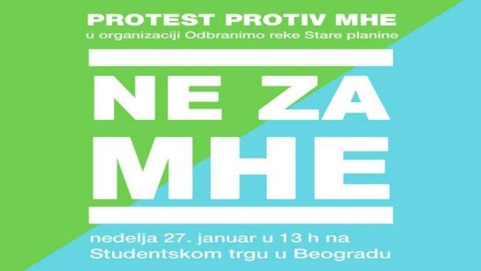 Ne davimo Beograd podržao protest protiv izgradnje malih hidroelektrana 1