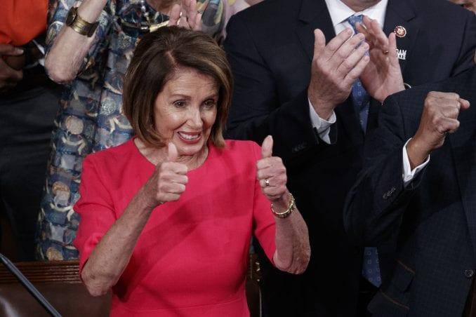 Nensi Pelozi izabrana za predsedavajuću donjeg doma Kongresa SAD 1