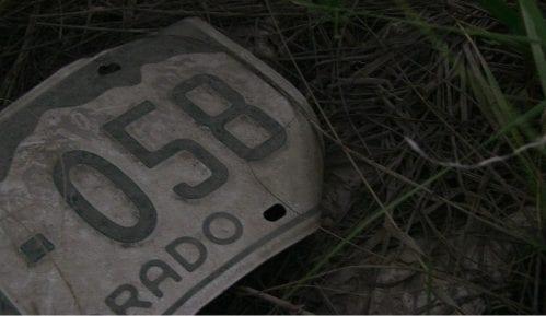 """Registarska tablica """"odala"""" lopove iz Obrenovca 12"""