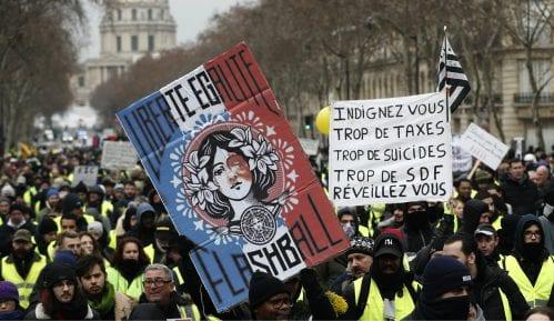 Hiljade ljudi na novom protestu Žutih prsluka u Francuskoj 9