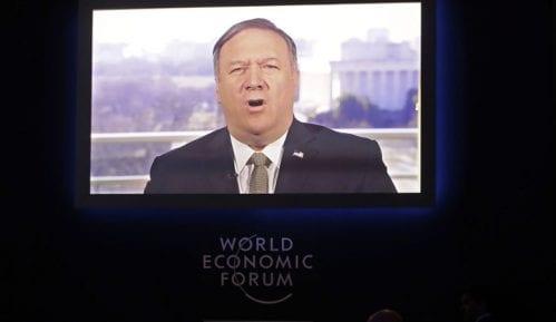 Pompeo se obratio video linkom na Forumu u Davosu 2